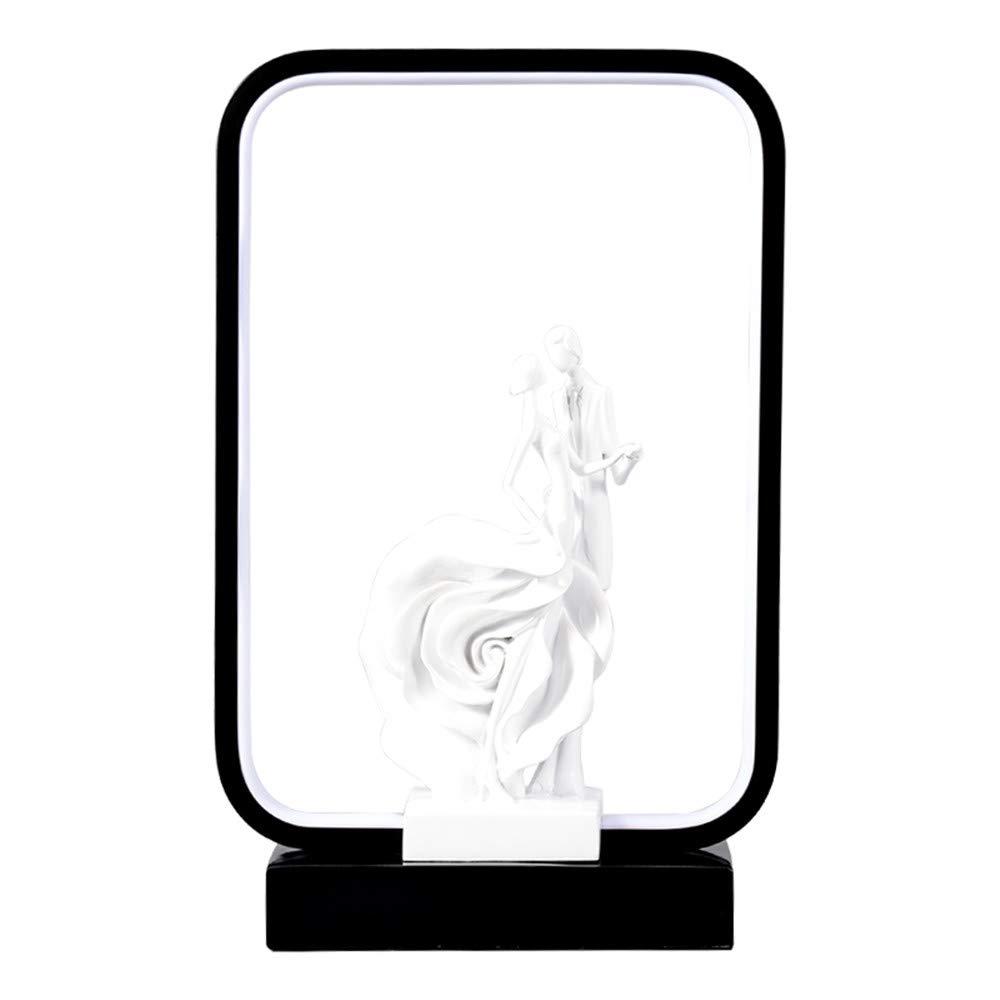 Ainia Kreative Schreibtischlampe Dimmable LED Tischlampe Fernbedienung Schalter und Handy Intelligente Lichtsteuerung Nachtlicht,N,RemoteControlSwitch