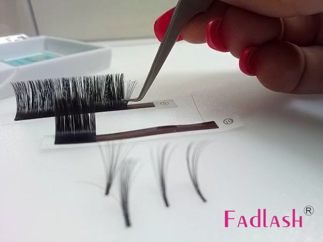 46eb2546c2f Volume Lash Extensions D Curl 0.07mm 2D~20D Mixed Tray Easy Fan Volume  Lashes 8~14mm Mega Rapid Blooming 5D 6D 7D 10D Cluster Eyelash Extensions  Supplies by ...