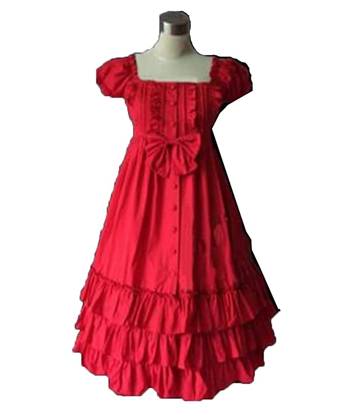 33c9c13b0367 Angel&Lily Lolita Cotton Dress Plus 1X-10X at Amazon Women's Clothing store: