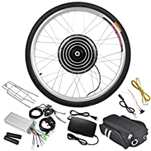 """AW 48V 1000W 26""""x1.75"""" Front Wheel Electric Bicycle Motor Kit E-Bike Cycling Hub Conversion Outdoor Sport"""