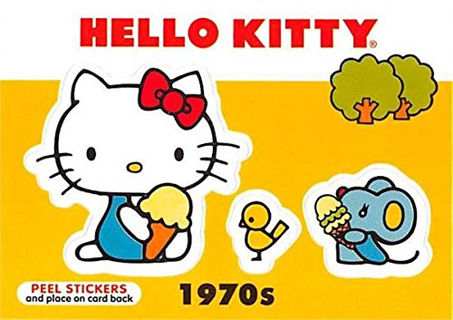 Hello Kitty trading card 2014 Upper Deck #S17 1970s Mouse Chick Ice Cream