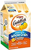 Pepperidge Farm Goldfish Crackers, Made with Whole Grain and Real Cheddar Cheese, 30 Oz Carton