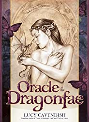 Oracle Of The Dragonfae: Oracle Card and Book Set by Lucy Cavendish (2008) Cards
