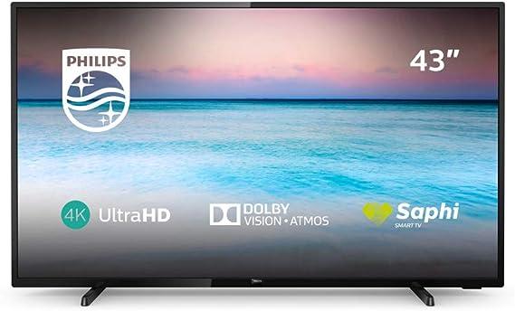 Televisor Philips 43PUS6504/12, 43 pulgadas: Philips: Amazon.es ...