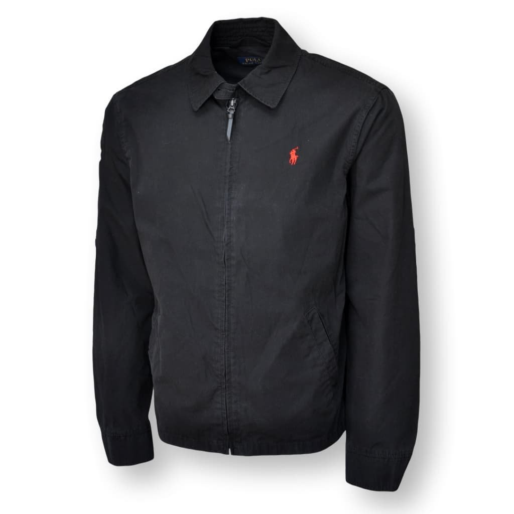 Polo Ralph Lauren Mens Lightweight Jackets (2XL, Black)