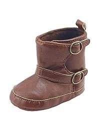 Gotd Toddler Newborn Baby Boy Girl Snow Boots Soft Sole Prewalker Warm Martin Shoes