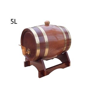 FYHDJ14 - Barriles de Madera de Roble para Botellas de Vino ...