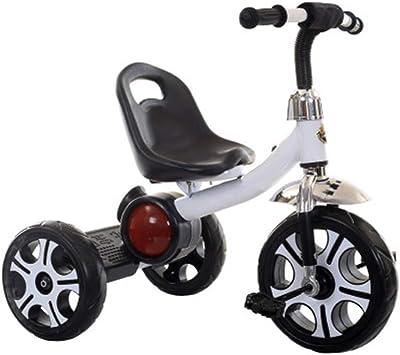 Axdwfd Infantiles Bicicletas Triciclo de niños con música Pedal de Bicicleta para niños de 2 a