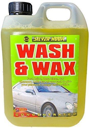 SILVERHOOK SGWW5RA Concentrated Wash/Wax Car Shampoo, 5 Liter