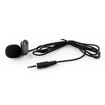 seesii UHF transmisor receptor inalámbrico de largo 100 M Claro Auricular Micrófono para altavoz Tour conferencia