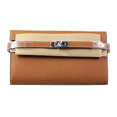 Anifeel Women's Padlock Genuine Leather Wallets Purse Billfold