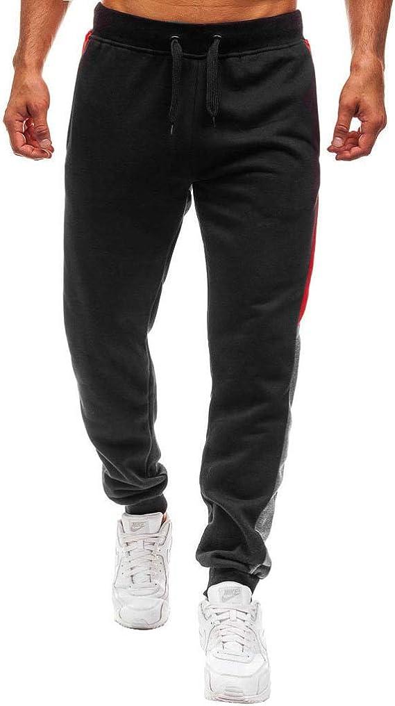 Pantalones Casual para Hombres Cinturón de Cintura elástico ...
