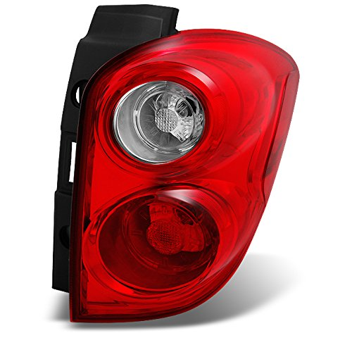 V Red Clear Rear Tail Light Brake Lamp Taillamp Repalcement Passenger Right Side ()