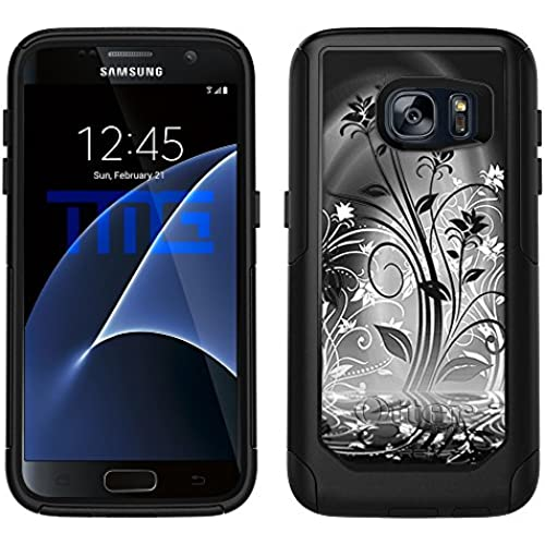 OtterBox Commuter Samsung Galaxy S7 Case - Black Plant Beautiful Shadows on Black OtterBox Case Sales