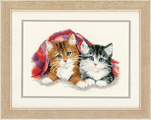 (Vervaco Two Tabby Kittens Cross Stitch Kit )