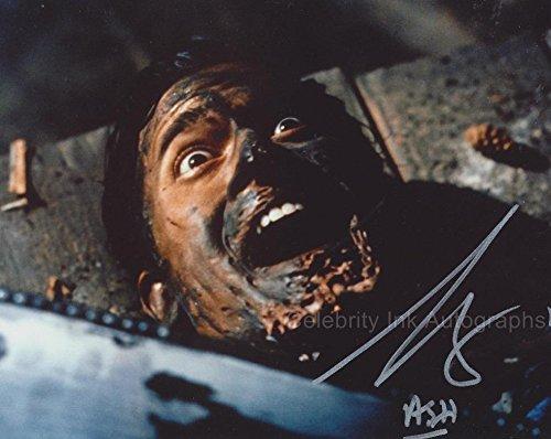"BRUCE CAMPBELL as Ashley ""Ash"" J Williams - Evil Dead GENUINE AUTOGRAPH"