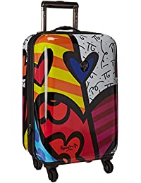 America Multi -Britto A New Day 21-Inch Carry-on Spinner Luggage