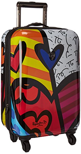Heys America Multi -Britto A New Day 21-Inch Carry-on Spinner Luggage