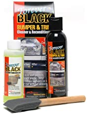 Forever Black Bumper and Trim Reconditioner Cleaner und Reconditioner - Kunststoffreiniger, Schwarz, Anzahl 3