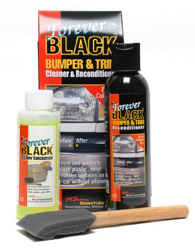 Spare Foam Bumper - Forever Black Bumper & Trim Kit (NEW Improved Formula & Larger Size)