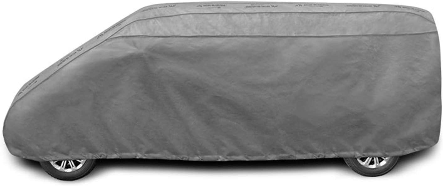 Saferide Vollgarage Auto Autoplane 520 530 Cm Grau Uv Schutz Dünn Autoabdeckplane Ganzgarage Wasserdicht Hagelschutz Atmungsaktiv Aussen Sonnenschutz Winter Auto