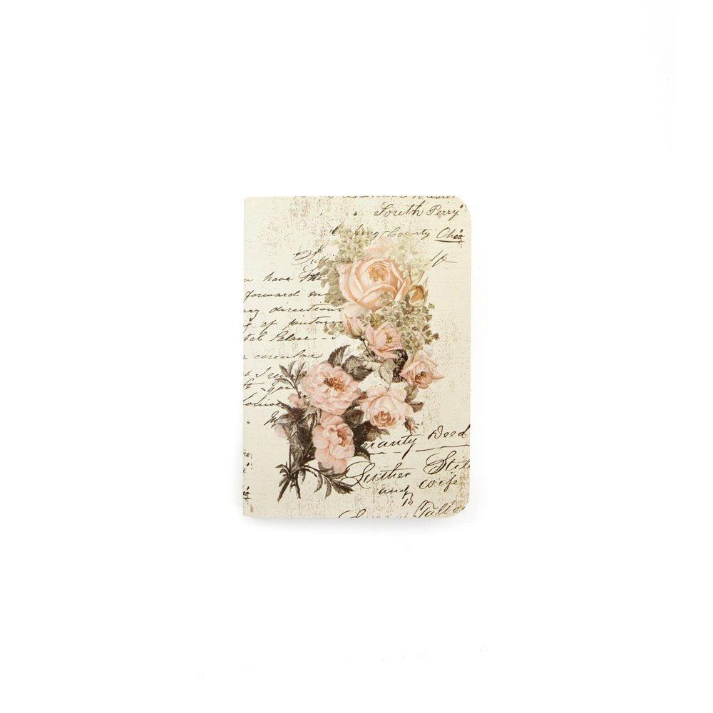 Prima Marketing Notebook Inserts Passport Size-Dusty Roses Prima Marketing Inc. 655350599850