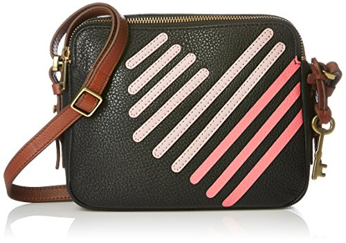 Crossbody Pink Toaster Piper Black Fossil v7FOqE