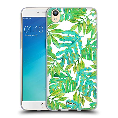 Official Paul Brent Hawaii Leaves Tropical Soft Gel Case for Oppo R9 / F1 Plus