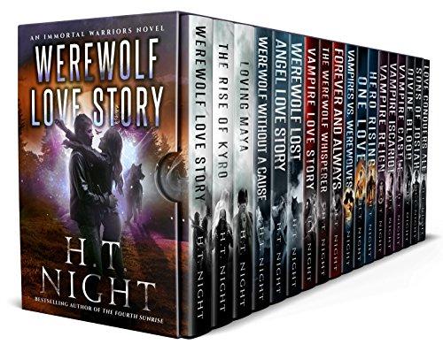 - 20 Book Vampire Love Story Immortal Warriors Box Set