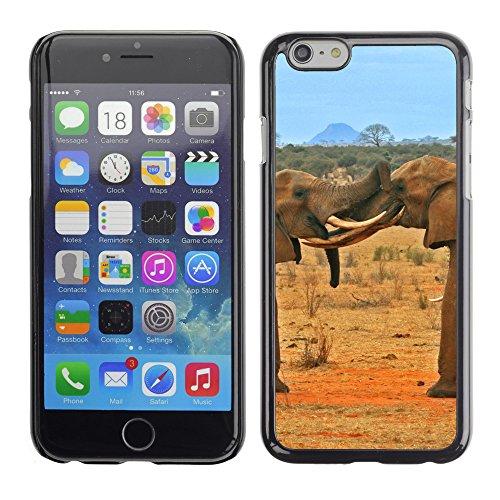 """Premio Sottile Slim Cassa Custodia Case Cover Shell // V00003275 éléphants de combat // Apple iPhone 6 6S 6G 4.7"""""""