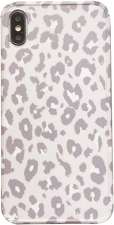 for iPhone Xs Max Case Fashion Leopard Pattern Phone Case with Camera Protection Corner Bumper Cover Shockproof Special Skin for iPhone Xs Max Cases (for iPhone Xs Max)