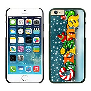 The Christmas Tree On Christmas Day Lovely Mobile Phone Protection Shell for iphone 4s Case-Unique Soft Edge Case(2015),Merry Christmas iPhone 4s Case 42 Black