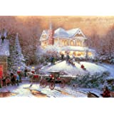 Gibsons Victorian Christmas II - Thomas Kinkade G656 1000 Piece Jigsaw Puzzle