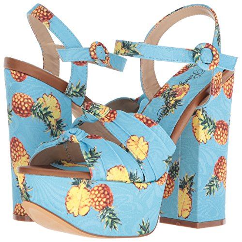 Penny Loves Kenny Women's Scat Platform, Blue Pineapple, 6.5 Medium US by Penny Loves Kenny (Image #5)