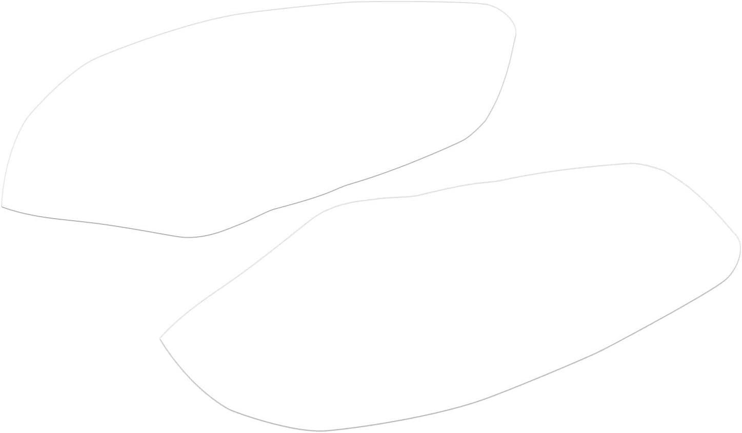 WOVELOT pour Yamaha R6 2008 2009 2010 11 12 13 14 15 Tampon De R/éservoir Antid/érapant pour Moto Autocollant Protecteur pour Tampon De Traction pour Genouill/ères /à Gaz Lat/éraux
