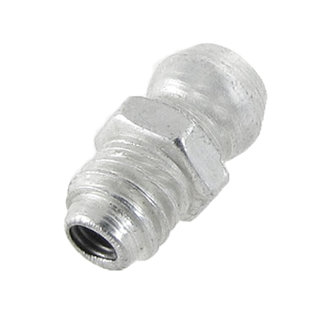 sourcingmap 6mm M6 Male Thread Straight Hydraulic Grease Nipple Fitting a11121000ux0036