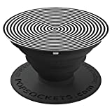 Hypno Spiral Hypnosis Lit - PopSockets Grip and Stand for Phones and Tablets