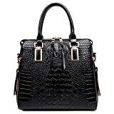 Single Shoulder Skew Handbag,Black,29X17X15Cm
