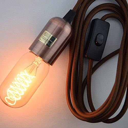 Brown Pendant Light Cord