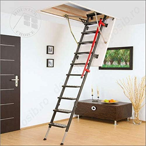 FAKRO suelo Escaleras LML Lux con metal Escalera: Amazon.es: Bricolaje y herramientas