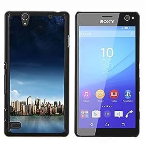 YiPhone /// Prima de resorte delgada de la cubierta del caso de Shell Armor - Sunset Beautiful Nature 61 - Sony Xperia C4