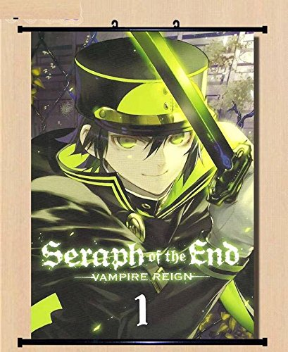 Home Decor Anime Seraph of the End/Owari no Seraph The night's micah scroll poster 23.6x31.5 Inches-023L