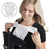 Cheap Baby Preferred Drool Pads and Teething for Ergo, Babybjorn, lillebaby Ergobaby Easy Snug Infant Drool Bib 2-in-1 Sun Shade 6 Layer Protection Burping Cloths Design – Stars & Stripes …