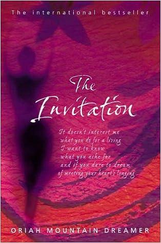 The Invitation Amazoncouk Oriah Mountain Dreamer 9780722540459