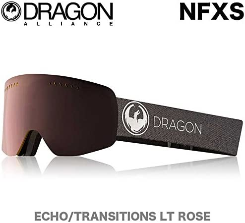 DRAGON ドラゴン 17-18 NFXS エヌエフエックスエス スノー ゴーグル NFXS ECHO/TRANSITIONS_LT_ROSE