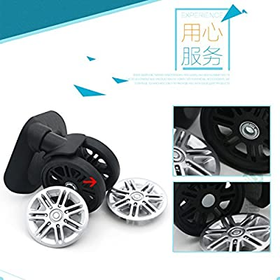 Liaozy888 Replacement Luggage Wheels W179# (Di Long) 360 Spinner for Suitcase Wheel Repair/Luggage Wheels Replacement Parts (A Pair/Set) : Sports & Outdoors