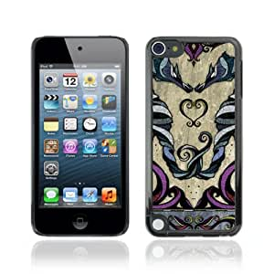 CQ Tech Phone Accessory: Carcasa Trasera Rigida Aluminio Para Apple iPod Touch 5 - Beautiful Zodiac Twins Sign