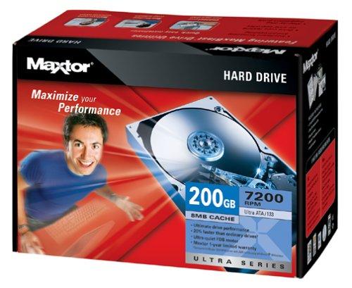 Maxtor L01P200 Internal 7200 RPM 200 GB Hard Drive ()