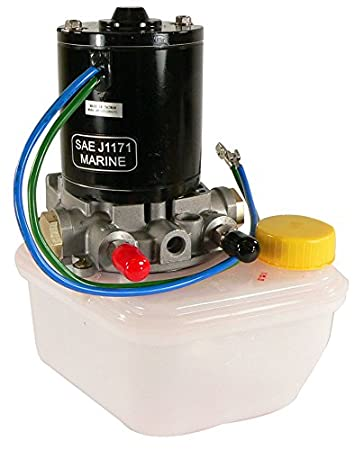 amazon com db electrical trm0089 tilt trim motor pump reservoir amazon com db electrical trm0089 tilt trim motor pump reservoir for power pole sportsman anchor 4 6789 pump spn f sports outdoors