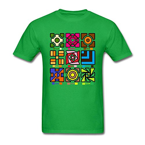 SLJD Men's Gamerverise Canimals Geometry Dash Design T Shirt